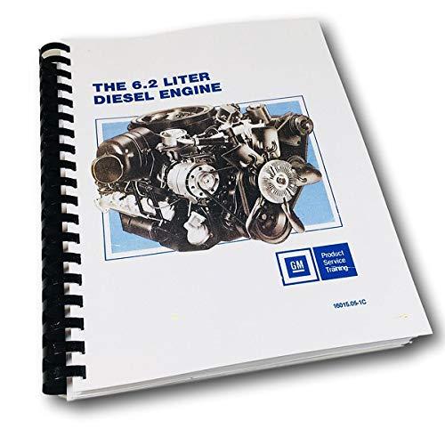 Gm 6.2L Diesel Engine Service Manual 82-93 Chevrolet Suburban Blazer