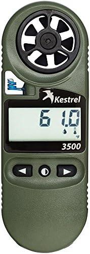 Kestrel 3500NV Pocket Weather Meter, Olive Drab
