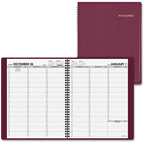 At-A-Glance Professional Weekly Appointment Book - Weekly - 8.25