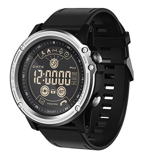 C-Xka Reloj Digital Inteligente Deportivo - Reloj Impermeable Bluetooth Impermeable para Hombres, Smartwatch con calorías...