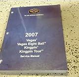 2007 Polaris VICTORY Vegas 8 Ball Kingpin Models Service Shop Repair Manual OEM