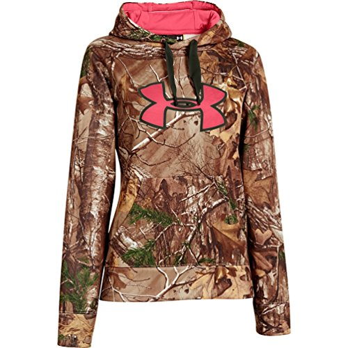 Under Armour UA Camo Big Logo Hoody - Women's Realtree AP-Xtra / Rifle Green / Perfection XL