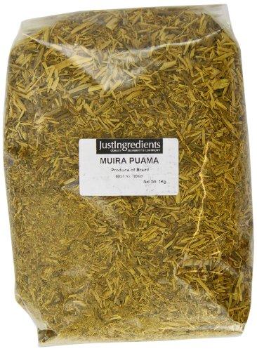 JustIngredients Muira Puama, Muira Puama, 1er Pack (1 x 1 kg)