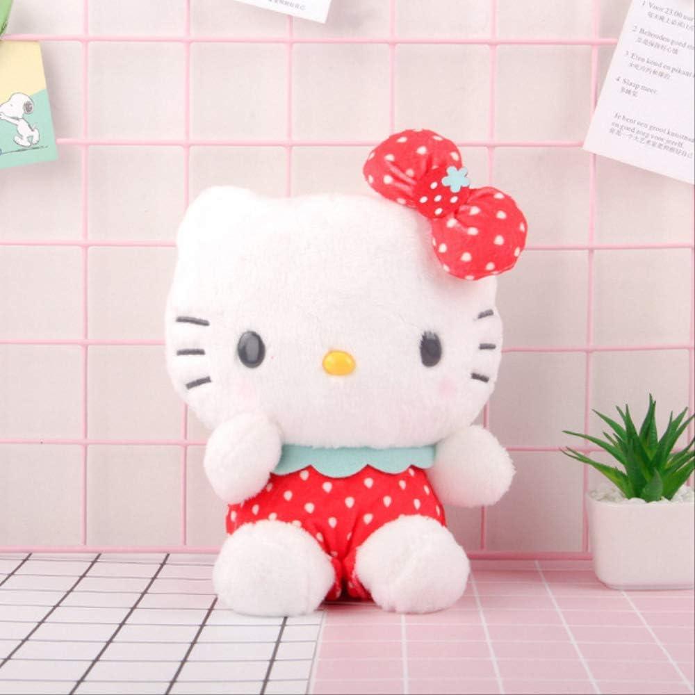 N|A 25cm Dibujos Animados Encantadores Serie Sanrio Fresa Mi Melodía Cinnamoroll Perro Almohada De Felpa Hello Kitty Peluche Regalo A