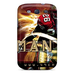 Galaxy S3 Case Cover - Slim Fit Tpu Protector Shock Absorbent Case (san Francisco 49ers)