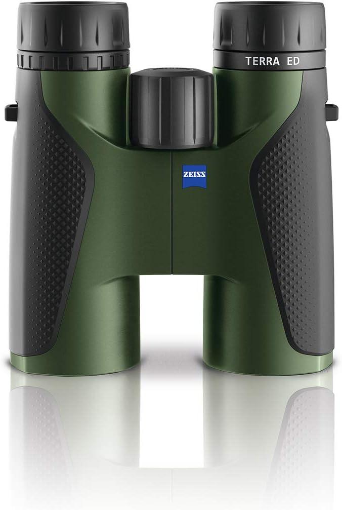 Zeiss Terra ED 10×42 Binoculars for Hunting, Birdwatching, Outdoor, Traveling, Green