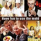 heiinsog 75g DIY Moon Cake Mold, Mid-Autumn