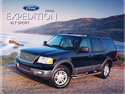 - 2004 Ford Expedition XLT Sport Package 1-page Car Dealer Sales Brochure Card