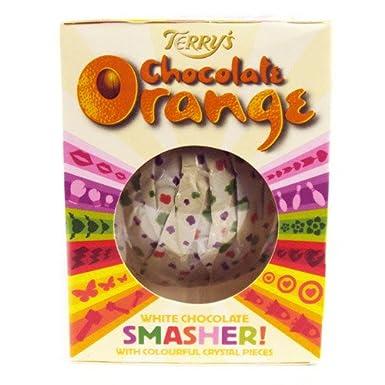 Terrys White Chocolate Orange Smasher 170g Amazoncouk
