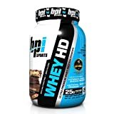 BPI Sports Whey-HD Ultra Premium Whey Protein Powder, Chocolate Cookie, 2 Pound by BPI Sports