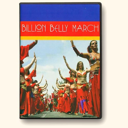 THE BILLION BELLY MARCH DVD - A bold experiment in remote learning. Study unique choreographies while learning Middle Eastern rhythms. Study tools and looping practice tracks to help you master: - Solstice Nude