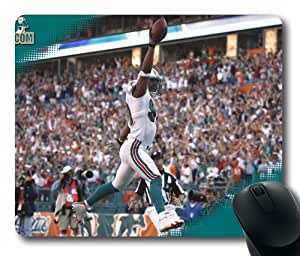 NFL Miami Doiphins Customized Rectangle Mouse pad NFL Miami Doiphins