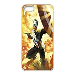 Marvel Hero Caption American series durable cases For Apple Iphone 5 5S Cases HQV479672725