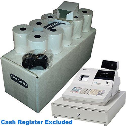 eposbits® marca 20rollos + 1x de tinta para Samsung ER-290ER290caja registradora