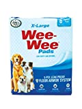 FOUR PAWS TAPETES SUPER ABSORBENTES WEE-WEE PADS 6 PZ. X-LARGO