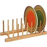 Trademark Innovations Plate Holder, Tan