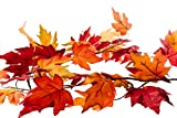 CraftMore Fall Maple Leaf Garland 6 Feet
