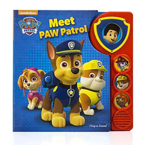 Nickelodeon - PAW Patrol Meet the Patrol Sound Board Book - Play-a-Sound - PI Kids