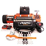 Rhino Electric Winch Wireless Recovery 12v 13500Lb / 6125Kg