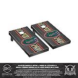 Operation Hat Trick Florida UF Gators Regulation Cornhole Game Set Onyx Stained Stripe Version