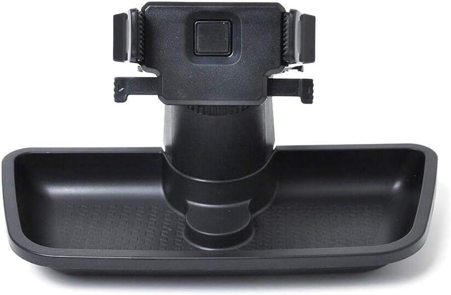 Multi-Mount Dash Phone Holder with Storage Box for 2011-2018 Jeep Wrangler JK JKU Black ABS Phone Holder Mount Bracket with in-Dash Panel Organizer Tray
