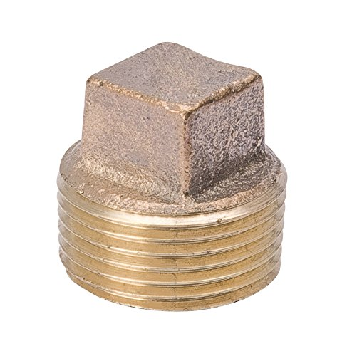 Brs Pipe Plug (B & K Industries 458-002NL 3/8