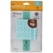 "Cuttlebug 5""X7"" Embossing Folder/Border Set-Anna Griffin Foundry"