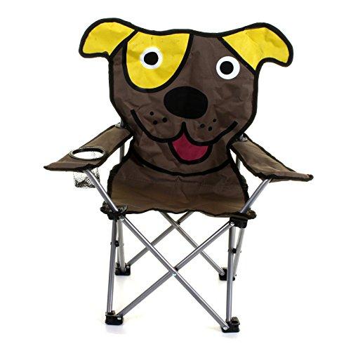 Marko Outdoor Camping Chair Kids Chidren Cartoon Animal Portable Lightweight Garden Beach Seat (Dog)