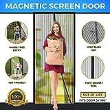 Magnetic Screen Door Easy Install Screen Door