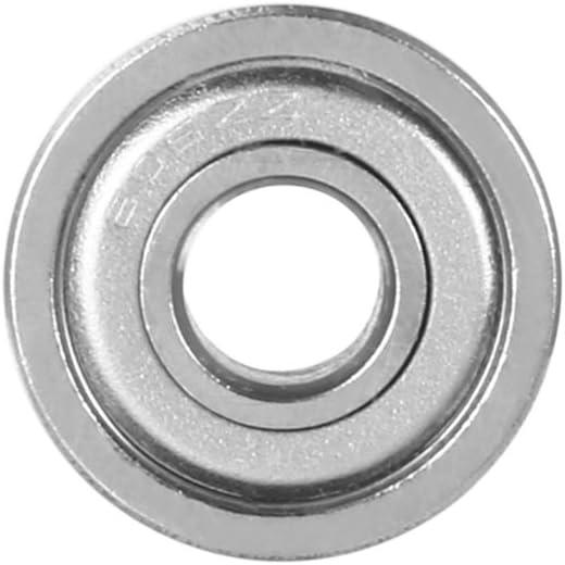 uxcell 10pcs 605ZZ 5mmx14mmx5mm Double Shielded Miniature Deep Groove Ball Bearing