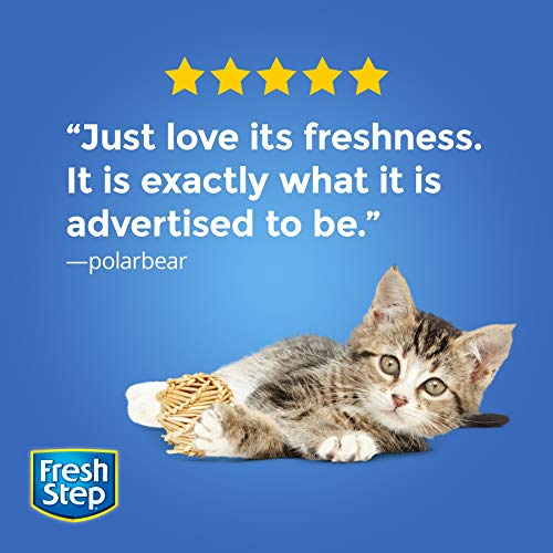 Fresh Step Extreme Scented Litter with the Power of Febreze, Clumping Cat Litter, 20 Pounds
