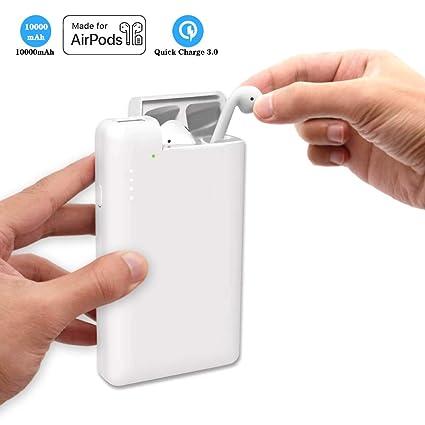 Amazon.com: Cargador de teléfono portátil de 10000 mAh con ...