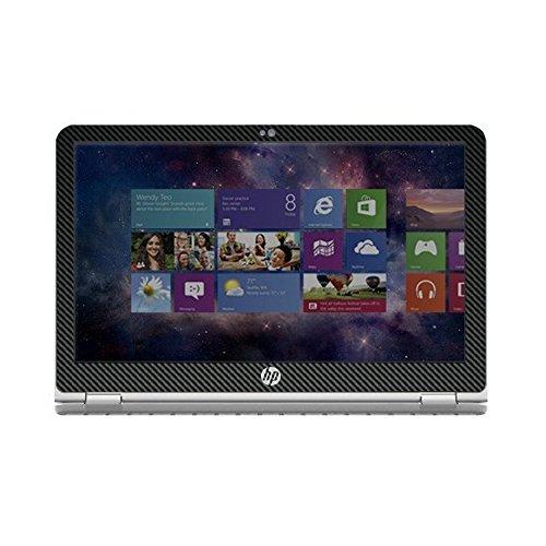 Black Carbon Fiber skin decal wrap skin Case for HP ENVY x360 m6 series m6-w101dx m6-w102dx m6-103dx m6-105dx 15.6'' laptop by GADFLY (Image #2)