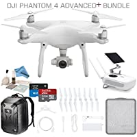 DJI Phantom 4 Advanced Plus Drone (DJI Phantom 4 Adv+ CP.PT.000698) Bundle, Includes Remote Controller with Built In Screen, Hard Shell Backpack, High Speed 32GB Ultra MicroSD Card and more...