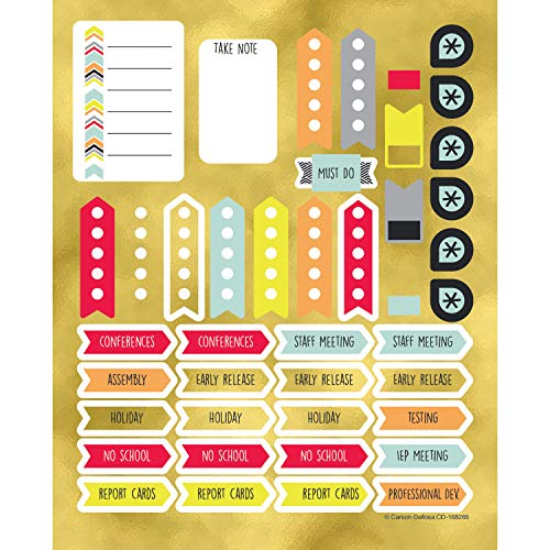 Carson Dellosa Aim High Planner Accents Sticker Pack (168265)