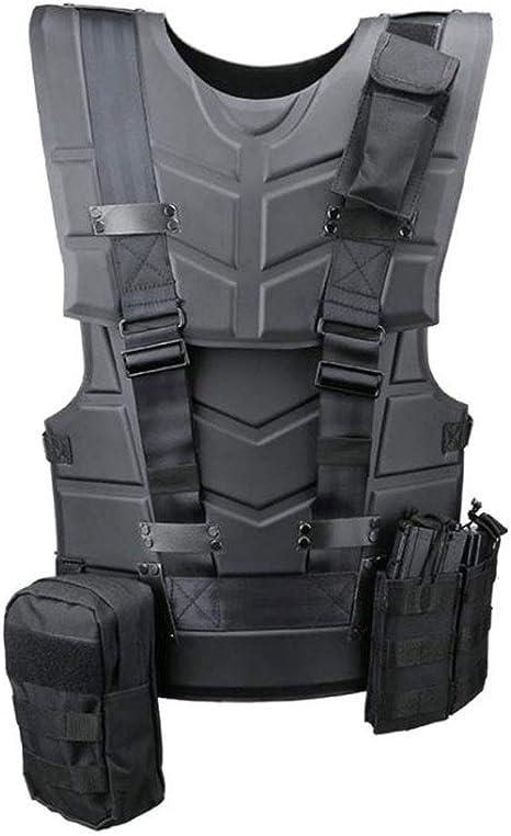 LY-01 Gilet Tactique Gilet Tactique /équipement ext/érieur de Gilet de Combat de Sports darmure Tactique Multifonctionnel