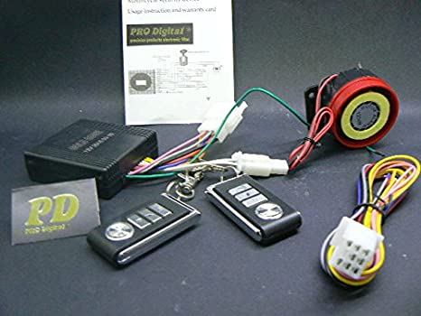 Prodigital® Moto Alarm Security System KIT Profesional ...
