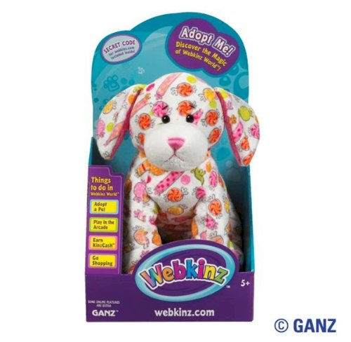 UPC 661371326993, Webkinz Delightz Candy Pup in Box