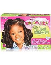 African Pride Dream Kids Olive Miracle Relaxer Kit, Regular
