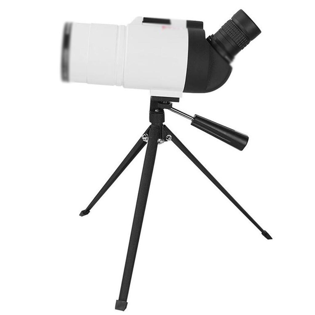 GOUGOU outdoor Monocular telescope HD night vision binoculars Adult bird watching telescope , white