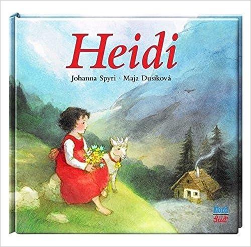 Book Heidi. Englische Ausgabe