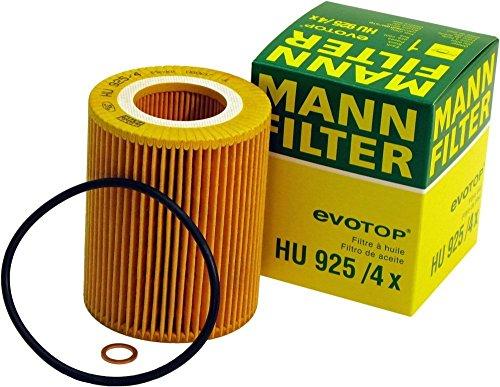 - Mann-Filter HU 925/4 X Metal-Free Oil Filter (Pack of 3)