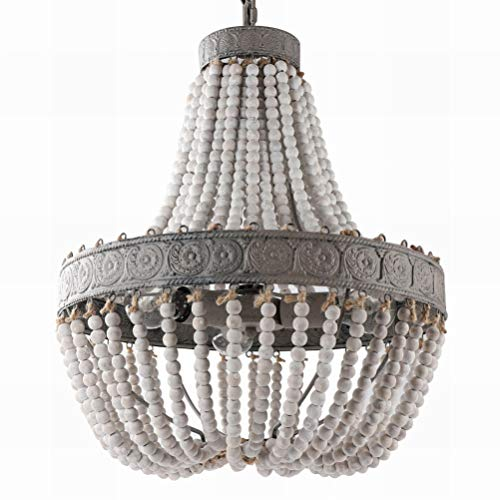Beaded Chandelier Pendant Light