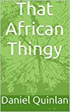 That African Thingy (My Child's First Thingy Book Book 1)