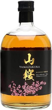 Yamazakura Whisky Japanese Blended, 500 ml, Pack de 1: Amazon.es ...