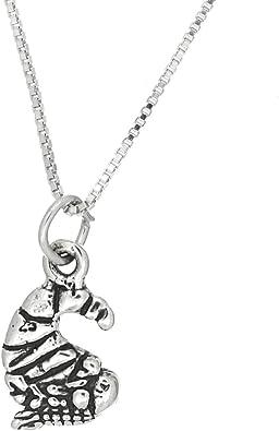 Lgu Sterling Silver Dogwood Blossom Necklace