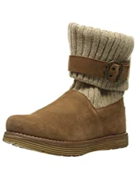 Skechers Women's Adorbs Sweater Foldover Winter Boot