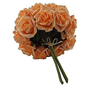 Lily Garden 2 Dozen Rose Bridal Wedding Bouquets Artificial Flower DIY 2