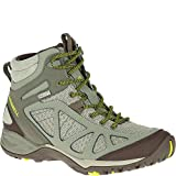 Merrell Women's Siren Sport Q2 Mid Waterproof, Dusty Olive, 7.5 W