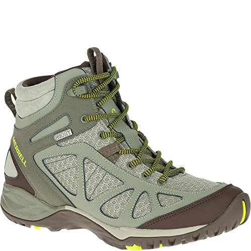 Merrell Siren Sport Q2 Mid Waterproof Boot - Women's Dusty Olive 10 Wide (Hiking Mesh Hiking Boots)